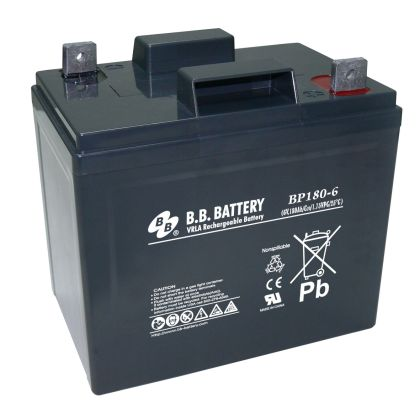 BP180-6 B9  B&B Battery (USA)
