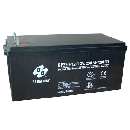 BP230-12 B9  B&B Battery (USA)