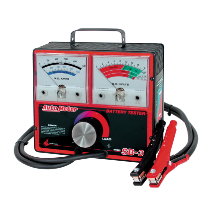 SB-3 AutoMeter Battery Tester